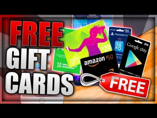 FREE GIFT CARDS 2017 - iTunes | Google Play | Xbox | PSN | Amazon | Roblox |