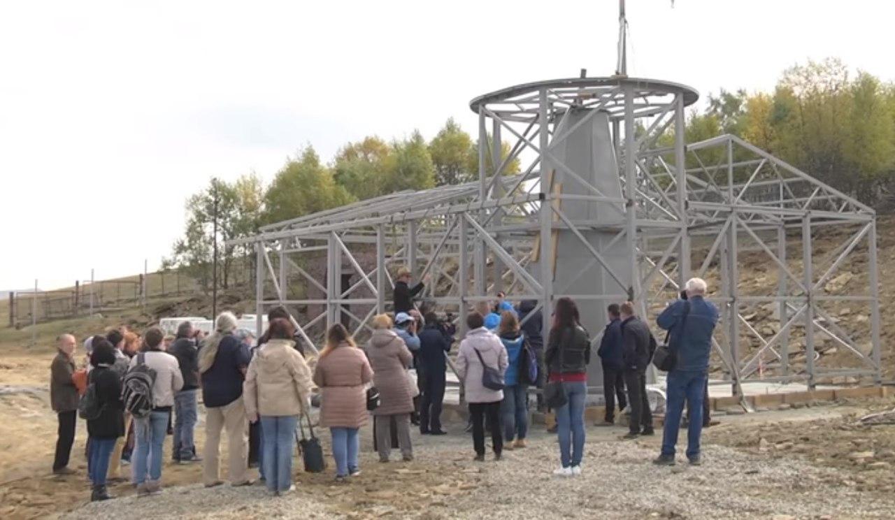 В горах Зеленчукского района заложили комплекс из 6 роботизированных телескопов