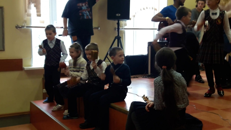 Cuba Libre Tres 'n Jazz в детской музыкальной школе