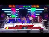 [BOXING VINE] [80 kg] Dmitriy Menshikov (Russia) vs Yanu Cruz (Guinea Bissau)  МАТЧ-БОЕЦ