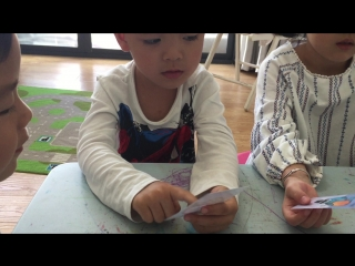 Describing monster's body parts (3 year olds)