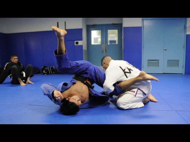 Lasso Guard to Triangle Guard or Omoplata with Kris Kim