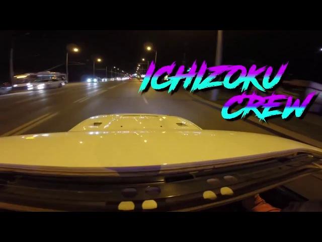 ICHIZOKU CREW. SDF. Nissan Silvia S13 S15 ILLEGAL DRIFT