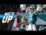 Carson Wentz Mic'd Up vs. Giants