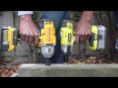 Lag Bolt Impact Wrench Shootout 4: Ryobi vs Dewalt , IR , Mastercraft
