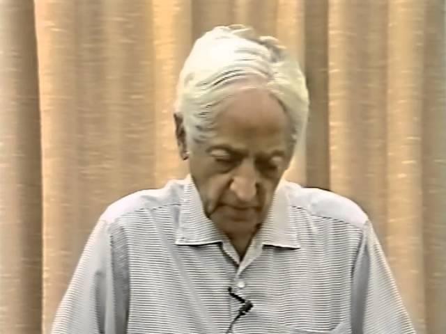Джидду Кришнамурти: Возможно ли тотальное изменение мозга? (Беседа 5, Швейцария, Саанен, 19/07/1983)
