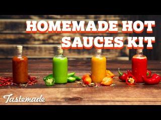 Homemade Hot Sauces Kit I Shop Tastemade