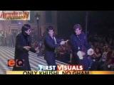 Hrithik Roshan walks the ramp With Amitabh Bachchan &amp Shah Rukh Khan at HDIL Couture Week 2010