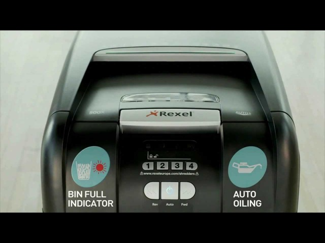 Rexel Auto 500X: тихая мощь
