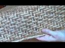 мк прямоугольной коробки с плетеным донышом и крышкой