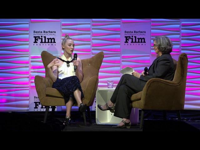 SBIFF 2018 Saoirse Ronan Discusses Lady Bird
