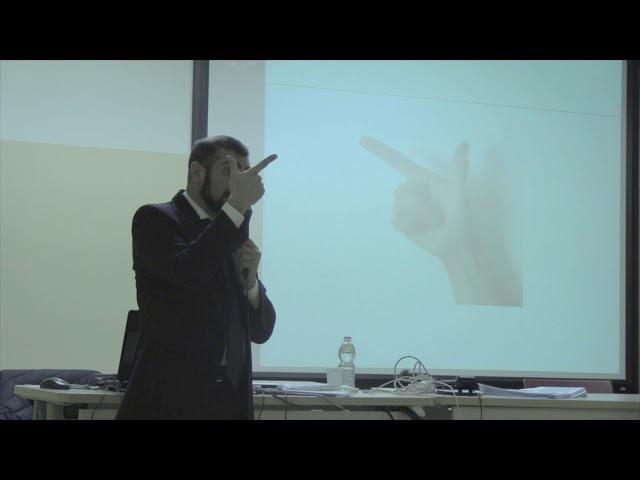 La dimensione non verbale nell'insegnamento dell'italiano a stranieri relatore Fabio Caonn