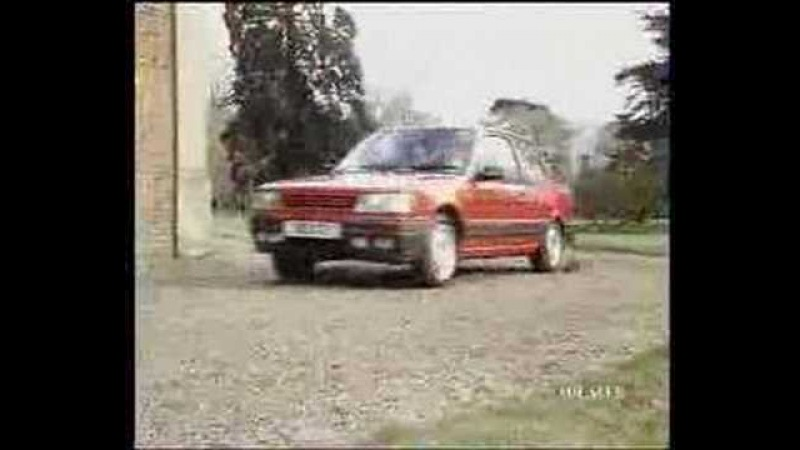 Peugeot 309 Advert - Picture - UK (1989)