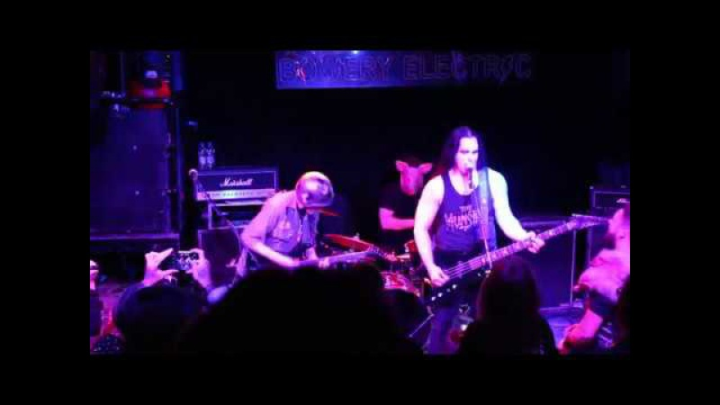 CARNIVORE A.D. Live @ Bowery Electric 10-31-17
