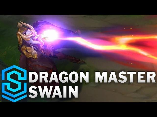 Dragon Master Swain Skin Spotlight League of Legends
