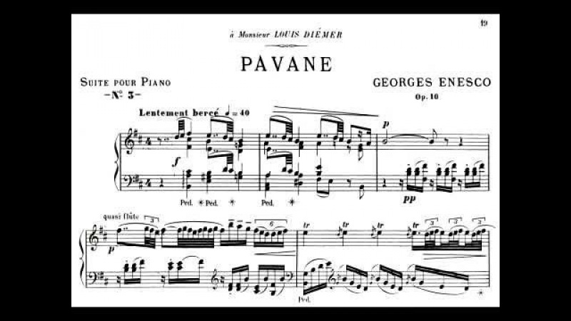 Enescu Pianist Superb: Pavane op. 10, unreleased performance by Enesco (Tibor Szász)