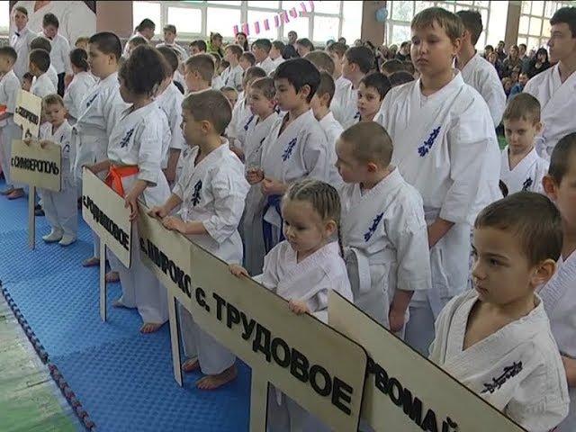 Турнир новичков секций кёкусин-кан карате-до