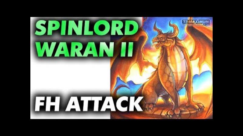 FH smash technique with short pips SPINLORD Waran II плоский удар справа короткими шипами