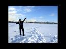 Стрельба стрелами из самострела АТ-12Валюн на замёрзшей Неве.