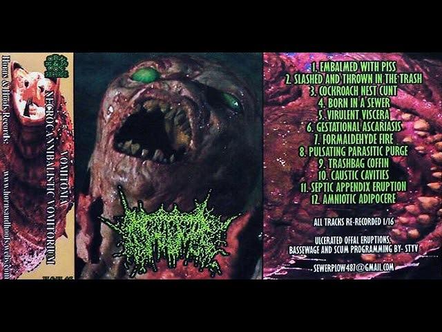 Vomitoma - Split Tape W Necrocannibalistic Vomitorium