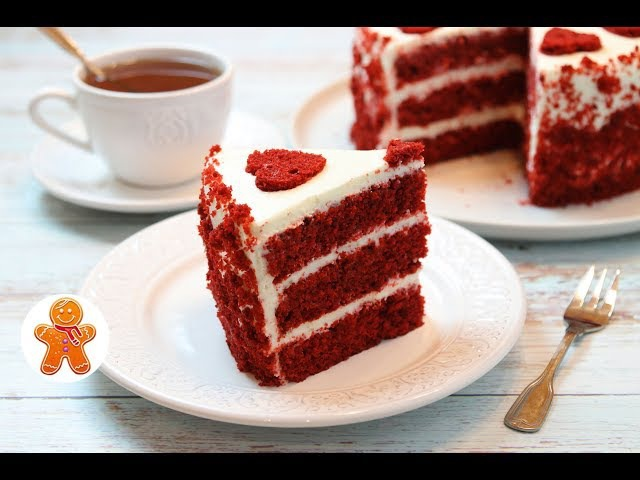 Торт Красный Бархат по Классическому Рецепту ✧ Red Velvet Cake (English Subtitles)