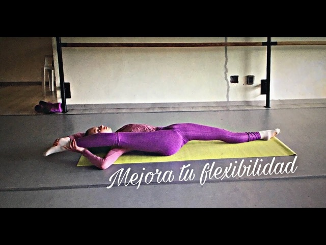 Ejercicios para la flexibilidad *rutina diaria*