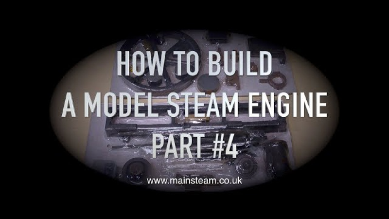 HOW TO BUILD A MODEL STEAM ENGINE - STUART MODELS VICTORIA - PART 4 - MACHINING THE FLYWHEEL
