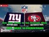 New York Giants vs. San Francisco 49ers  #NFL WEEK 10  Predictions Madden 18