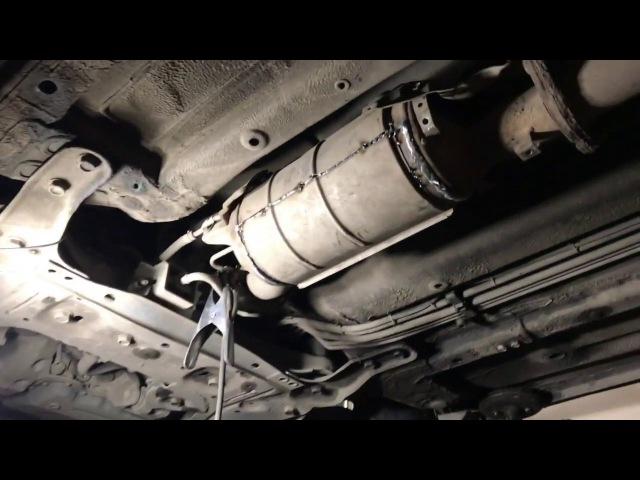 Удаление сажевого фильтра на Renault Kaleos 2012
