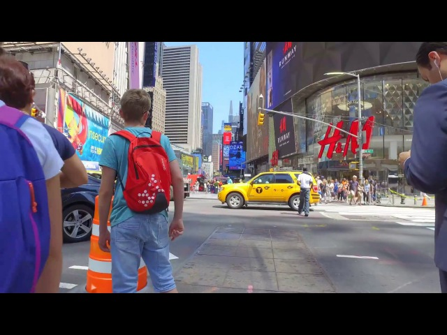 4k New York Quick Walk Empire State Building to CC Central Park