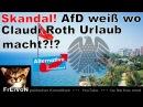 AfD weiß wo Claudi Roth Urlaub macht! SKANDAL! Dr. B. Baumann Bundestag * HD