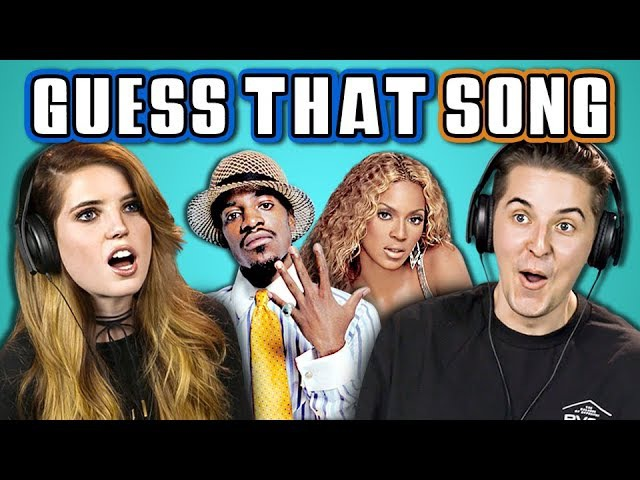COLLEGE KIDS GUESS THAT SONG CHALLENGE 2000s Songs (ft. ECHOSMITH) (REACT)