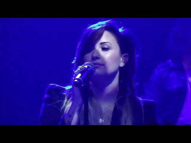 Demi Lovato Give Me Love São Paulo SoundCheck Brazil 24 04 2014 HD