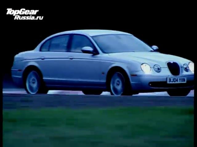 Джереми Кларксон на дизельном Jaguar S-Type носится по Нюрбургрингу. Часть 2