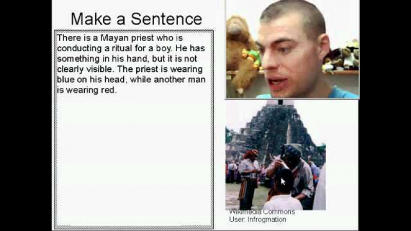 Learn English Make a Sentence and Pronunciation Lesson 52 Mayan Priest