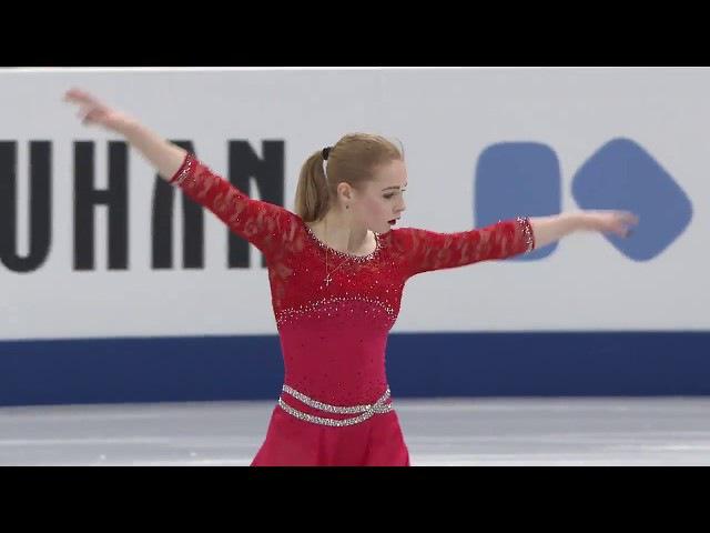 Daria PANENKOVA RUS - ISU JGP Final - Ladies Feee Skating - Nagoya 2017