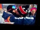 Gus Kenworthy kisses his boyfriend Matt Wilkas in WinterOlympics PyeongChang 2018.