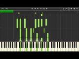 Ratatouille - Le Festin - Piano tutorial (Synthesia)