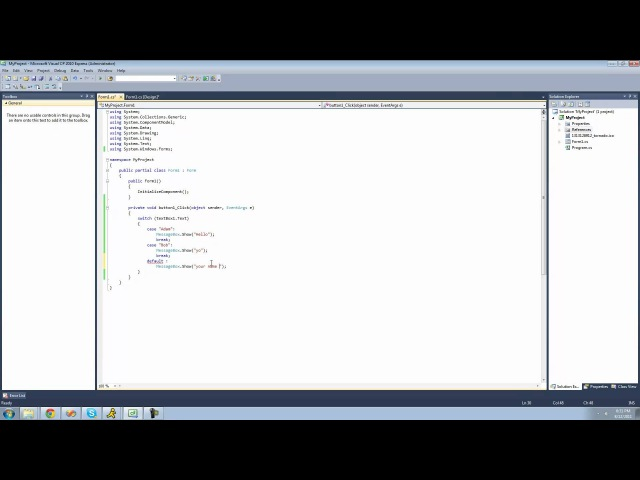 C Beginners Tutorial - 9 - Switch Statements