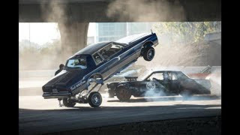 Дрифт,Лоурайд и невероятные трюки на Ford Mustang 1965 г лутшего в миге дрифтера Кена Бл...