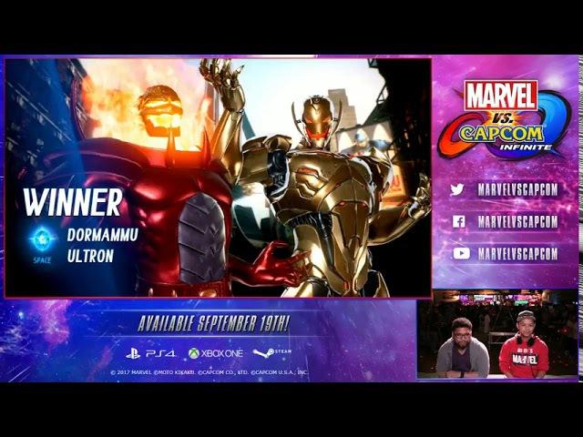 Marvel Vs Capcom Infinite Fchamp VS Combofiend FT5 EXHIBITION