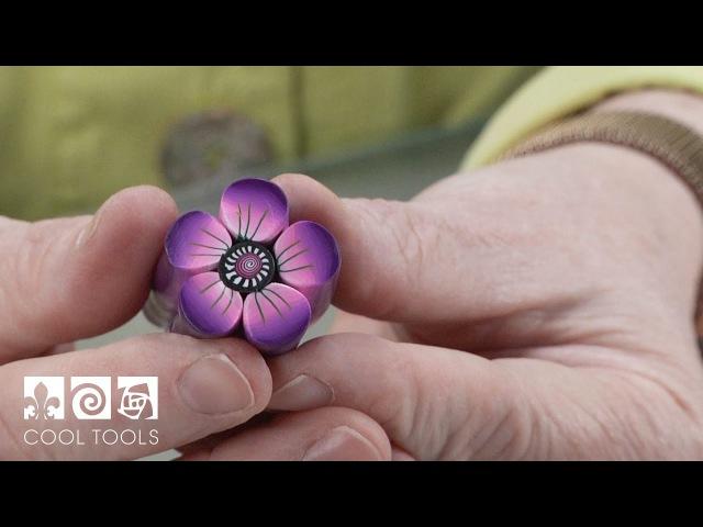 Cool Tools: Polymer Clay Flower Petal Cane by Debra DeWolff