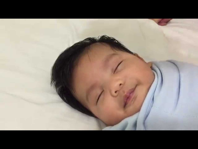 How to put a baby to sleep in less than ONE MINUTE