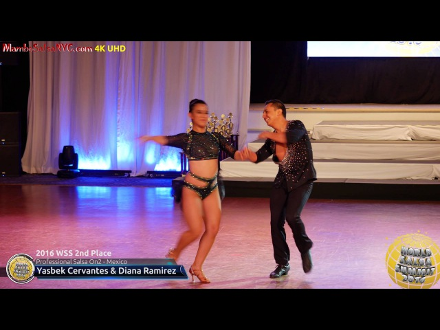 WSS16 Professional Salsa On2 2nd Place Yasbek Cervantes Diana Ramirez
