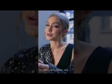 Gigi Hadid о помаде из коллекции GIGIxMAYBELLINE