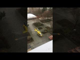 Скорая помощь в Германии... на вертолете!!!