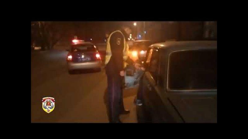 Дорожный Патруль пресек движение пьяного водителя