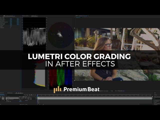 Color Grading with Lumetri in After Effects | PremiumBeat.com