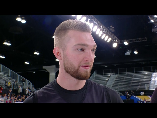 Domantas Sabonis Interview - Rising Stars Practice | February 16, 2018 | 2018 NBA All-Star Weekend