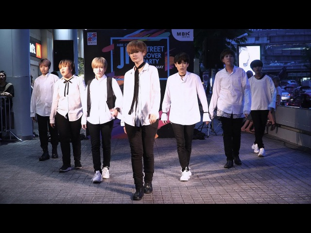 170520 4K 'BangEarn' - 'Boy In Luv,We Are Bulletproof Pt2,Spring Day'(BTS) @ MBK JK Street'17